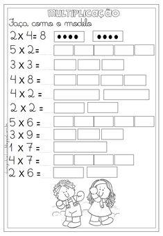 Math Multiplication Worksheets, 4th Grade Math Worksheets, Math Activities, Math Skills, Math Lessons, Math Sheets, Eureka Math, Cycle 2, Math School