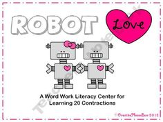 This fun, robot themed activity will help your students learn 20 different contractions.