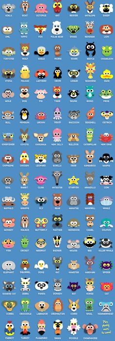 Over 100 Instant Printable Animal Masks For Kids To Download + Many more Halloween and other character masks only $19 for the whole collection! Yours to print out again and again... and again.