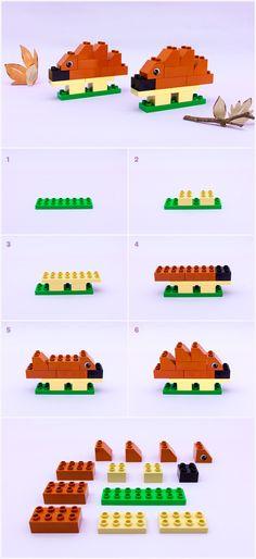 Comment construire un hérisson - Articles - Family LEGO.com