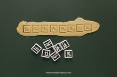 Scrabble Tiles cookie cutter, 3d printed - Alphabet cookie cutter - Letters cookie cutter - scrabble mold - scrabble biscuit cutter by Readyshapes on Etsy https://www.etsy.com/listing/236780298/scrabble-tiles-cookie-cutter-3d-printed