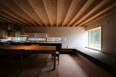 Residential dwellings and workshops by Hitoshi Sugishita Architect and Associates My Living Room, Living Room Interior, Muji Home, Traditional Japanese House, Bohinj, Japanese Interior, Interior Decorating, Interior Design, Interior Photo