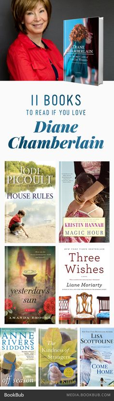 Books to Read If You Love Diane Chamberlain