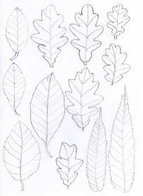 Bugs and Fishes by Lupin: Paper Leaf Garlands - a quick 'how to'