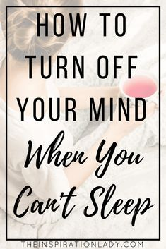 How to Turn Off Your Mind When You're Too Stressed to Sleep Stress, anxiety, depression, and other mental issues can make it really hard to sleep - but not impossible. Here are tips for turning off your overactive mind when you're too stressed to sleep! Anxiety Relief, Stress Relief, Stress Free, Arizona, When You Cant Sleep, How To Sleep Well, Mental Issues, Sleep Issues, Coconut Health Benefits