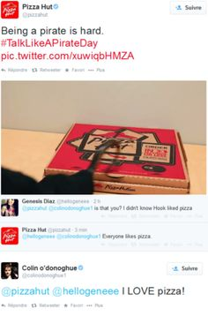 Colin and Pizza Hut