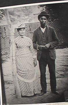 Harriet Joseph and her husband Vincent Joseph - Montauk - no date