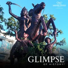 Take an insight into the history of Jhansi at Rani Jhansi Museum. The house weapons, dresses, photographs, and statues will bring you back to the time of Chandela. Nataraja, Ancient Civilizations, Museum, History, Postage Stamps, Statues, Weapons, Insight, Photographs