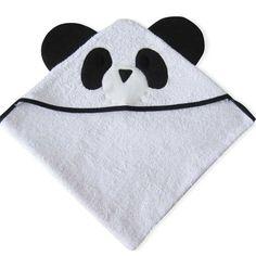 Toalla Toallón con capucha Panda - quimaydesign