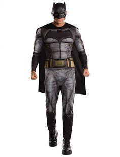 Batman DOJ Erwachsener | Deiters | Kostüm | Karneval | Fasching | Outfit | Mottoparty | Halloween