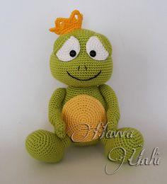 PATRÓN Príncipe Frog Amigurumi Crochet por HavvaDesigns en Etsy