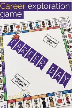 In this fun career education board game, students travel around the board reading about community helpers' daily tasks, work places, and interests! Throughout the game, students record careers interests. This counseling game is perfect for a small group setting or classroom guidance lessons with multiple boards.