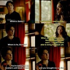 """#TVD 7x10 """"Hell Is Other People"""" - Damon and Bonnie"""