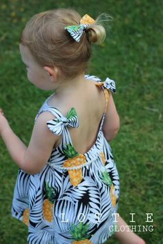 Palm Beach Dress by LottieClothing on Etsy