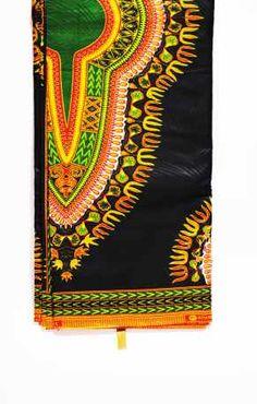 Tela africana Wax importada de Senegal vendida en karabashop.com