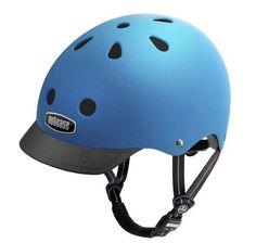 Nutcase Helmet Blue Matte Street
