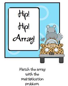 Pitner's Potpourri: Hip! Hip! Array! Freebie