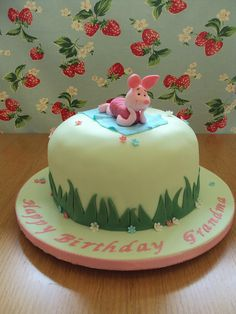 Piglet Cake by Cristina Campanaro, via Flickr