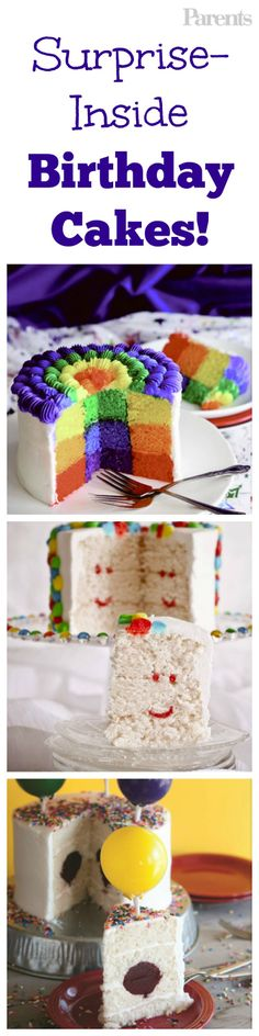 Don't just surprise them with what's inside the gift boxes. Learn how to hide a treat in their birthday cake!