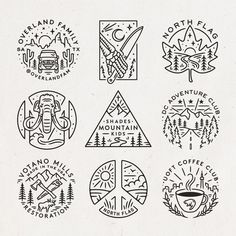 Another round of recent commissioned projects Ive been working on over the last month or so! As always Id love to hear your favourites so let me know what stands out to you! Badge Design, Logo Design, Line Art Vector, Desenho Tattoo, Sad Art, Simple Doodles, Line Illustration, Graphic Design Inspiration, Easy Drawings