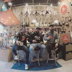 #cafédas18 com John e Pedro Gulin!