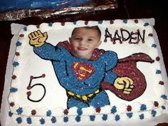 Aaden as superman just love this