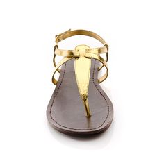 Gold sandal - My great grandmother used to look fabulous in sandles almost exactly like this!