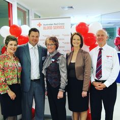 Throwback Thursday to the opening of the Red Cross Blood Bank in Werribee in 2010 and our very own Commercial King Peter Nation who met Julia Gillard. Here's our delicate little flower @robwestwood! #RedCross #BloodBank #donate #blood #savelives #Wyndham #Werribee #fnre #fnrewestwood #TBT