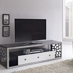 Belham Living Renata Quatrefoil TV Stand TV Stands at Hayneedle