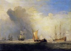 Turner, Joseph Mallord William: Rotterdam Fähre (Rotterdam Ferry Boat)