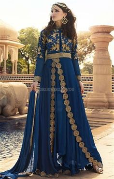 Buy full length long anarkali dress online shopping at low price  #Traditional #Inspiring #Attractive #Model #Look #Designer #Colorful #Awesome #party #Gorgeous #Embroidered
