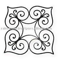 Wrought Iron Wall Decor, Metall Wall Accent, Wall decorative Item