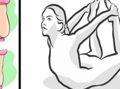 Zbavte se tuku na břiše a zádech s těmito 4 snadnými jóga cviky! Zvládnou to všichni!