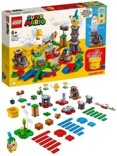 LEGO Super Mario 71380 Makersett Mestre utfordringen Lego Super Mario, Lego Mario, Lego Fire, Ben 10, Overwatch, Yoshi, Larry, Nintendo, Birthday Cake
