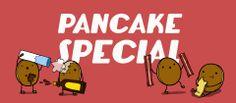 Tis weer Pannenkoeken tijd!!! Zaterdag wordt het weer onbeperkt pannenkoeken eten voor maar €6,-! Dat wordt SMULLEN!!!