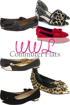 574f293ba6d0 A Lacey Perspective  Wednesday Wish List - Commuter Flats. All the shoes.  Wednesday