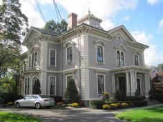Antique Victorian home,