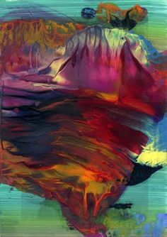 Abstract beauty.. Theo Altenberg paintings - Google Search