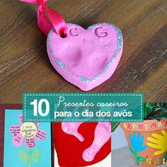 10 ideias criativas com dicas de como fazer um presente para os avós simples e barato. As crianças se divertem e os avós se emocionam.