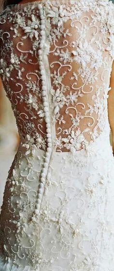 Embellished Back Wedding Dress – Trend 2015