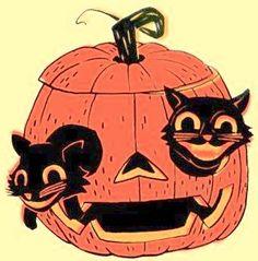 Beistle Halloween, Halloween Labels, Retro Halloween, Holidays Halloween, Halloween Crafts, Happy Halloween, Halloween Decorations, Halloween Stuff, Halloween Ideas