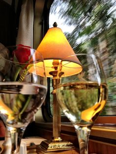 A relaxing glass of wine aboard the Orient Express* Simplon Orient Express, Trains, Ticket To Ride, In Vino Veritas, Train Rides, Train Travel, Mellow Yellow, Color Themes, Luxury Travel