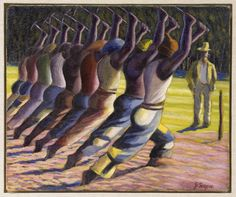 1913 - South African artist Gerard Sekoto was born in Botshabelo, Free State. Sekoto is best known for his social realist style paintings of urban South Africa. African American Art, American Artists, Gerard Sekoto, Contemporary African Art, South African Artists, Africa Art, Conceptual Art, Black Art, Art Day