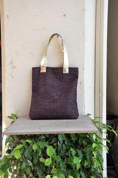 851e50dfd448 Items similar to Golden tote, Maroon handbag, Laptop bag, Shopping bag,  Carry on handbag, Burgundy bag, Teacher tote bag, Work tote bag, Striped  tote bag on ...