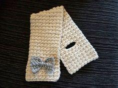 Crochet bufanda ojo de la cerradura  Maya