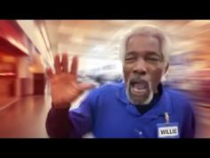 Mr. Willie - BAM!   Wal-Mart greeter remix.....This literally makes me laugh. Mr.Willie is such a sweet guy that works @ Walmart back home. You always got a BAM! lol