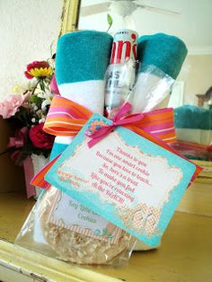 """End of Year Teacher Appreciation Gift-""""smart cookie"""" & relax at the beach theme"""