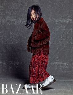 #Haru #LeeHaru Proves to Be a Fashionista in Her First-Ever Solo Photo Shoot