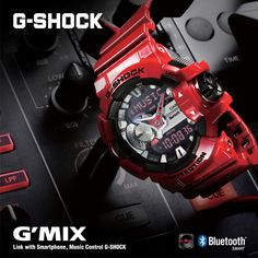 MUSIC CONTROL - Control your phone from the watch with G-Shock GBA-400 series !
