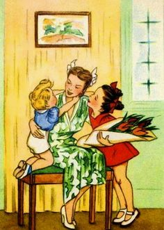 Mother's Day, ca. 1940s